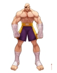 sftribute_sagat_by_satanasov