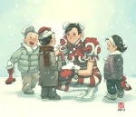 street_fighter_christmas_by_udoncrew
