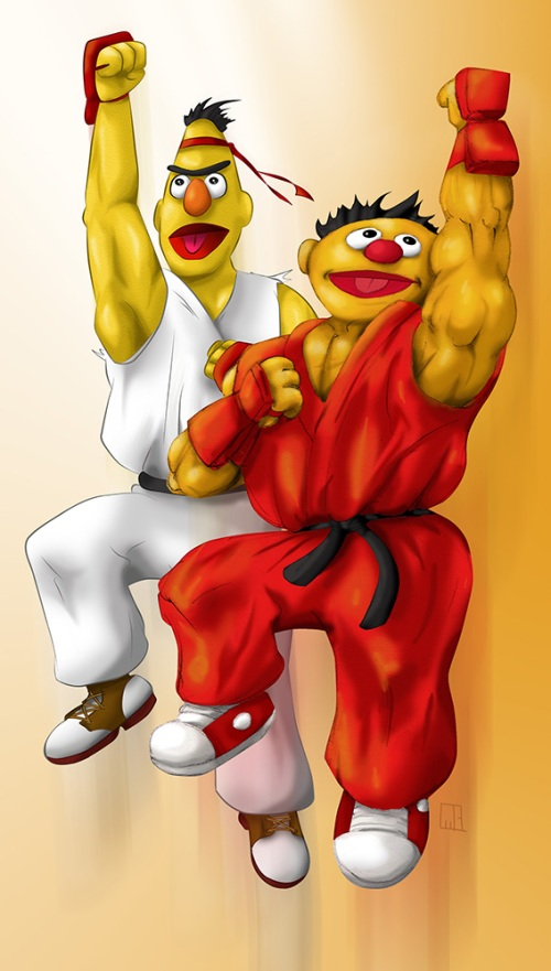 sesame_street_fighter_by_gavacho13