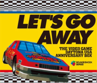 Let's Go Away The Video Game DAYTONA USA Anniversary Box