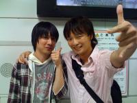 Yasunori Mitsuda e Hiroaki Yura