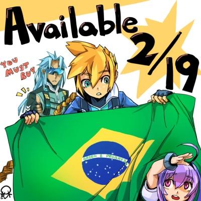 ブラジル発売